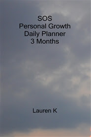 SOS Personal Growth Daily Planner 3 Months by Lauren K : $  13.97 ...