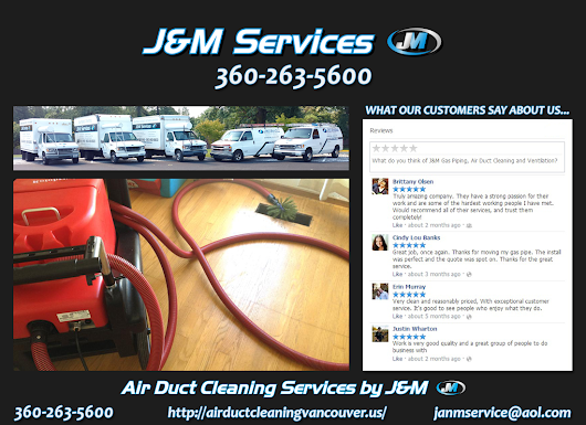 J&M Vancouver Wa Air Duct Cleaning Services