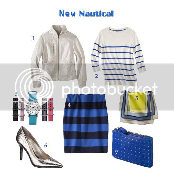 Target Style nautical resort fashion trend spring 2014