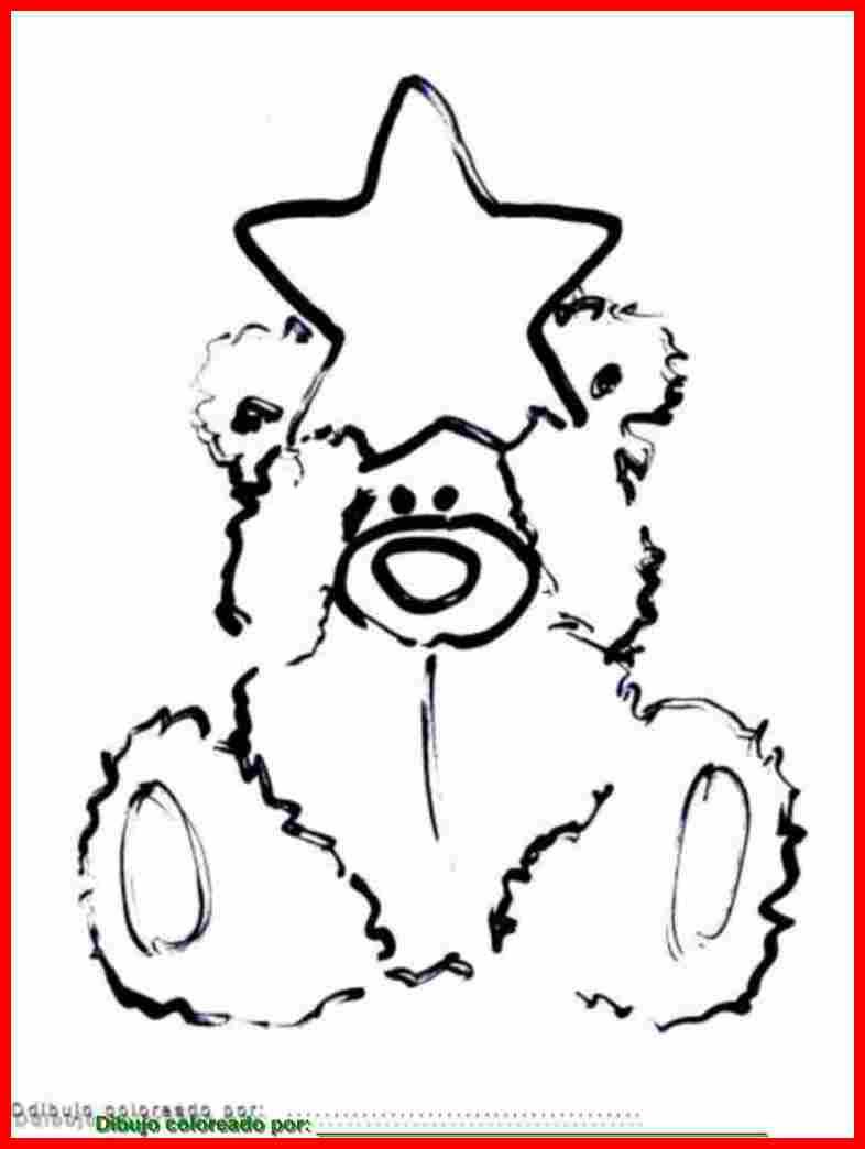 Dibujo De Estrella Para Colorear E Imprimir