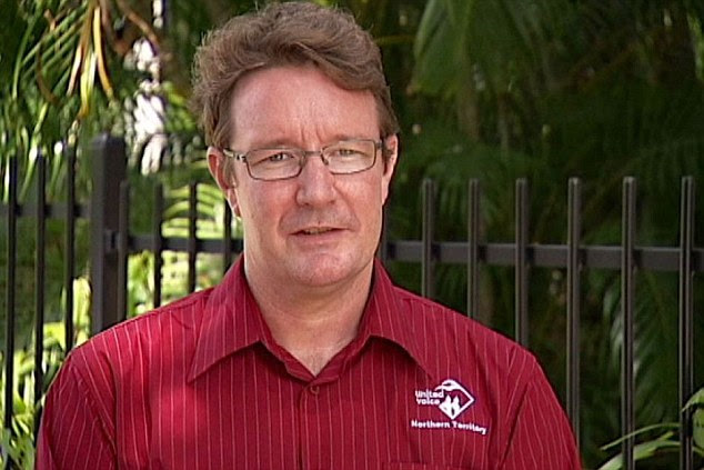 Volunteer: NT Labour Party leader Matthew Gardiner has left Australia to reportedly join the fight with YGP