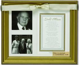 Gifts Tableware Gift Ideas Frames In Loving Memory Memorial Frame