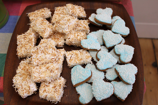 marshmallows and gingerbread