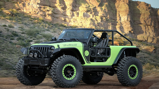 Jeep stuffed a 707-horsepower engine in a Wrangler, just for fun