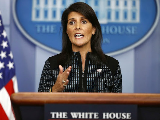 Nikki Haley: U.S. to Stay in Iran Nuclear Deal While Aiming to 'Make It Better'