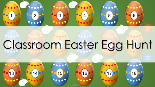 Classroom Easter Egg Hunt