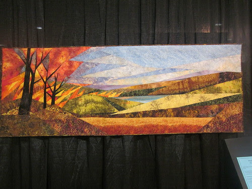 """""""Prairie Fire"""" by Ruth Powers of Carbondale, KS"""