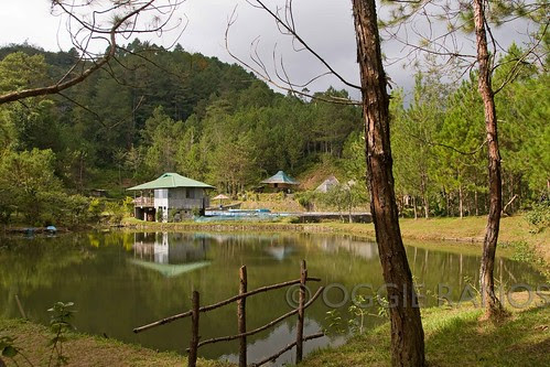 Banaue Ethnic Village Postcard Pretty Lake