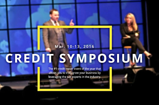 Credit Symposium March 10-13, 2016