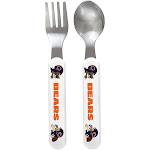 Fork & Spoon Set - Chicago Bears