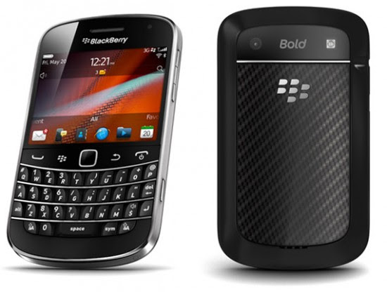 BlackBerry Bold 9900 550x416 Top 10 Touchscreen Phones for 2012