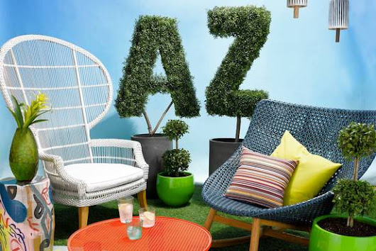 The A-to-Z Guide to Outdoor Furniture
