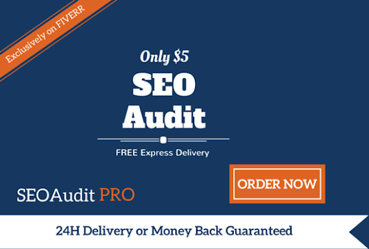 seoauditpro : I will create a Complete SEO Website Audit within 24 Hours for $5 on www.fiverr.com