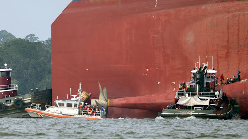 After 'pure horror' of rescue, authorities ponder what to do with the Golden Ray