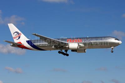 Florida West International Airways (2nd) Boeing 767-346F ER N422LA (msn 35818) MIA (Arnd Wolf). Image: 907784.