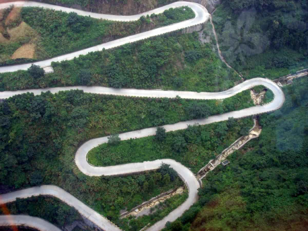 Alguns dos caminnhos mais perigosos do mundo 10