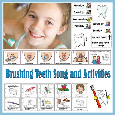 Brush Your Teeth Every Day Song and Activities | KidsSoup