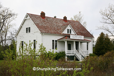 Sleeping Bear Point Life Saving (Coast Guard) Station, 1901, Glen Haven, Michigan