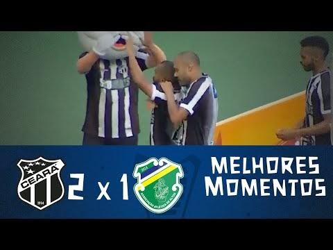 a1b191ea01 Melhores momentos de Ceará 2 x 1 Altos - Copa do Nordeste 09 02 2019
