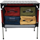 Camp Chef Mountain Series Sherpa Table & Organizer, Grey/Red