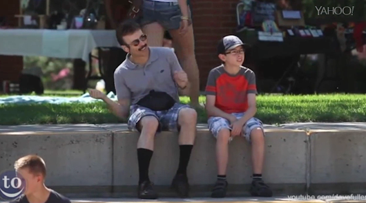 Dads embarrass kids everywhere dancing to 'Uptown Funk'