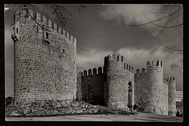 Castillo de San Servando hacia 1955. Foto Vistabella