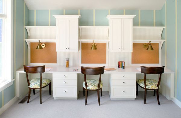 29 Kids\u2019 Desk Design Ideas For A Contemporary And Colorful Study Space