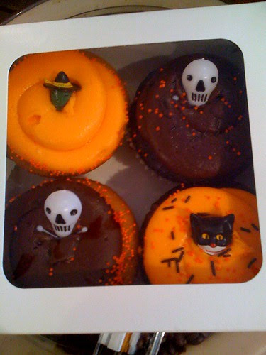 Citarella Halloween cupcakes
