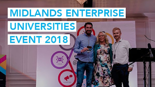 Midlands Enterprise Universities Event 2018 - Stone's Throw Media