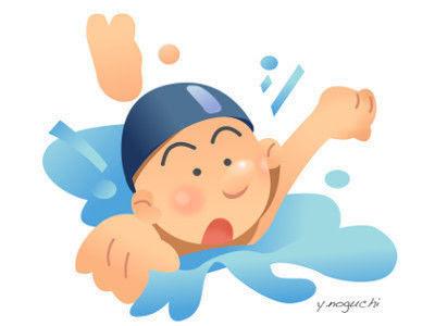 水泳 スイミングスクール イラスト Nonちゃんイラストブログ