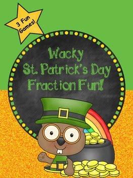 Wacky St.Patrick's Day Fraction Fun