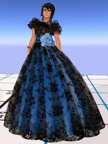 Fashion Fest 2010 Alafolie Lola bal bleu