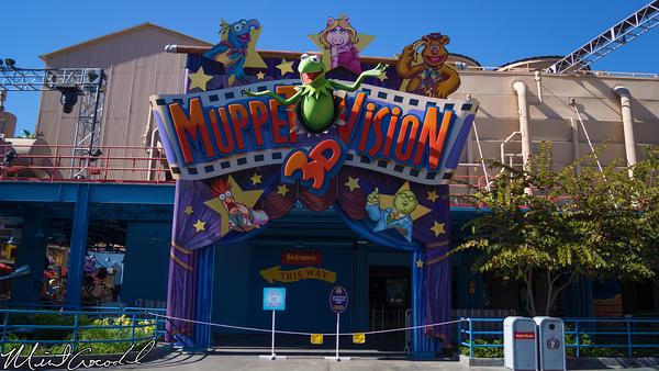 Disneyland Resort, Disney California Adventure, Hollywoodland, Hollywood Land, Christmas, Time, Frozen, Muppet Vision 3D