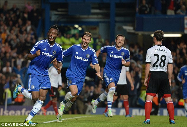Ecstatic: The midfielder was delighted with his goal