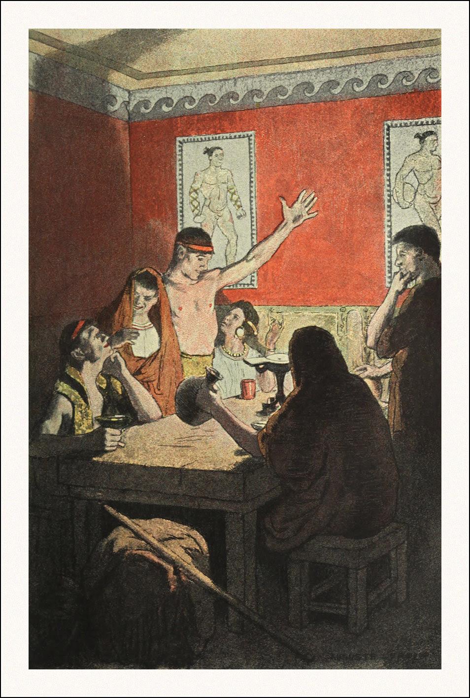 L'orgie latine, Auguste Leroux