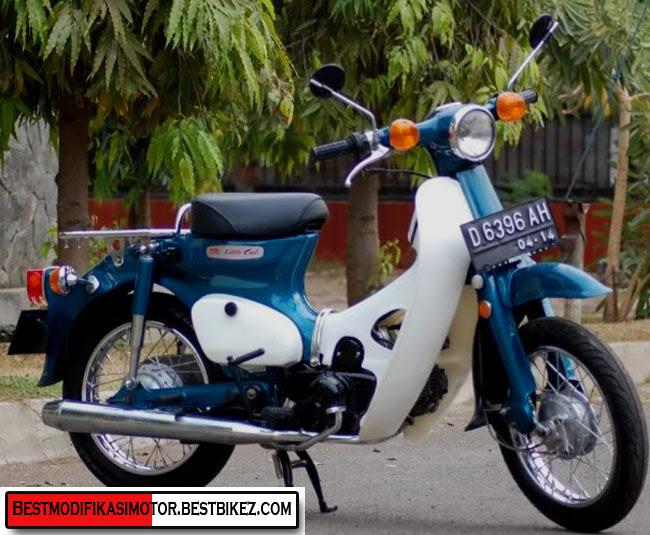 Modifikasi Motor Honda C