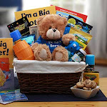 GBDS 890772-B I am the Big Brother Childrens Gift Basket