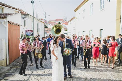Fun Destination Wedding in Portugal (With a Brass Band Parade)