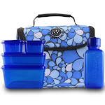 New Wave Enviro Litter Free Lunch - Blue with BPA-Free Containers