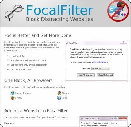 Focalfilter vietato distrarsi - Bloccare apertura finestre chrome ...
