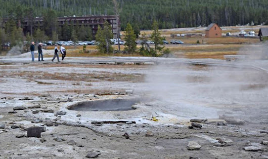Yellowstone volcano LATEST: Authorities warn 'changes afoot' after rare geyser eruption