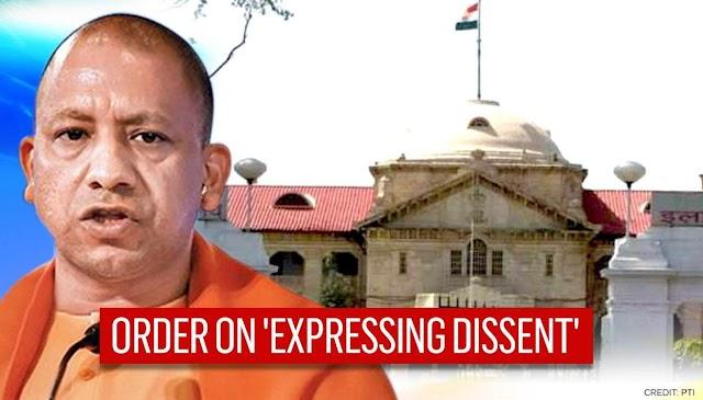 Expressing Dissent Hallmark Of Democracy