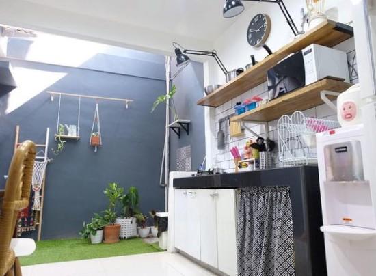 Dapur Ruang Makan Taman   Ide Rumah Minimalis