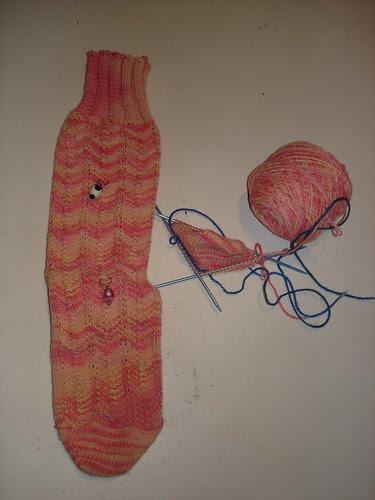 Posh Sock progress