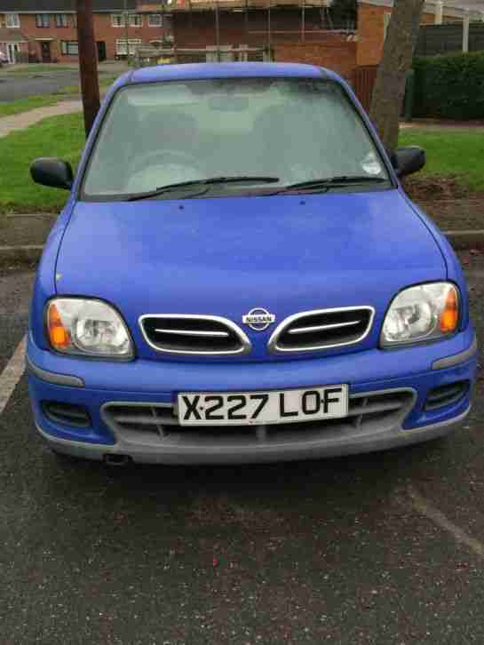 Nissan Micra, Blue, 1.0 S 2000 X Reg. car for sale