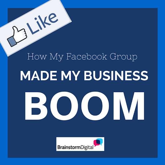 How My Facebook Group Made My Business Boom - London Online Marketing Agency