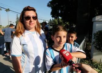 Así ven los hinchas argentinos a la selección antes de debutar
