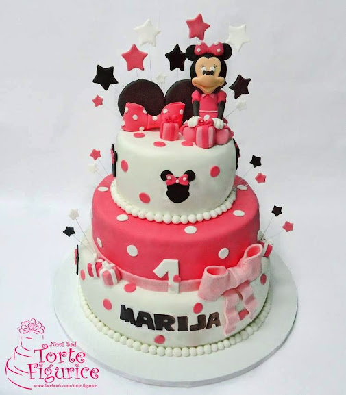 Minnie Mouse Birthday Cakes At Sam