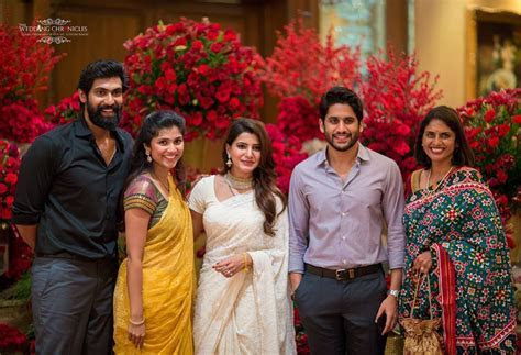 Naga Chaitanya Samantha Marriage Get Together Party Photos