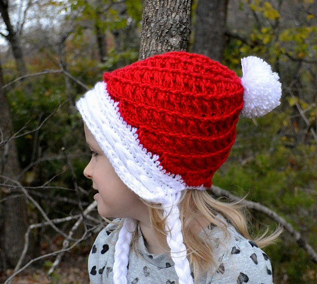 Spiral Slouchy With Cables Hat Free Crochet Pattern